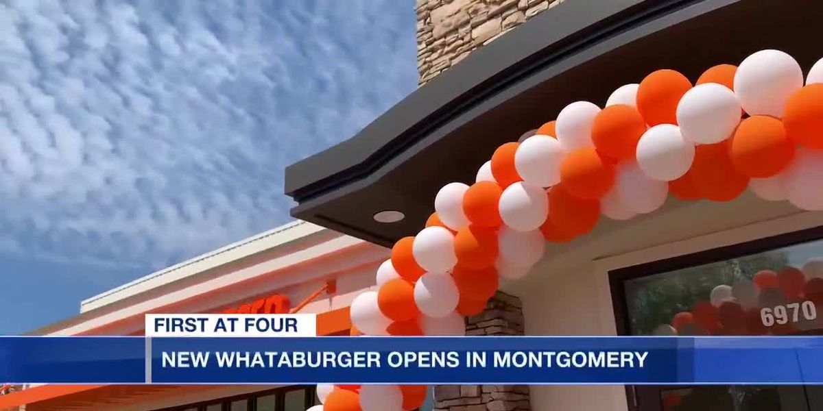 New Whataburger opens in Montgomery