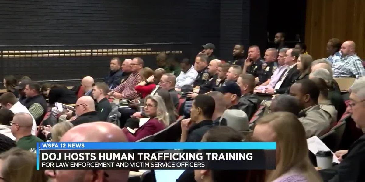 DOJ hosts Human Trafficking training for law enforcement
