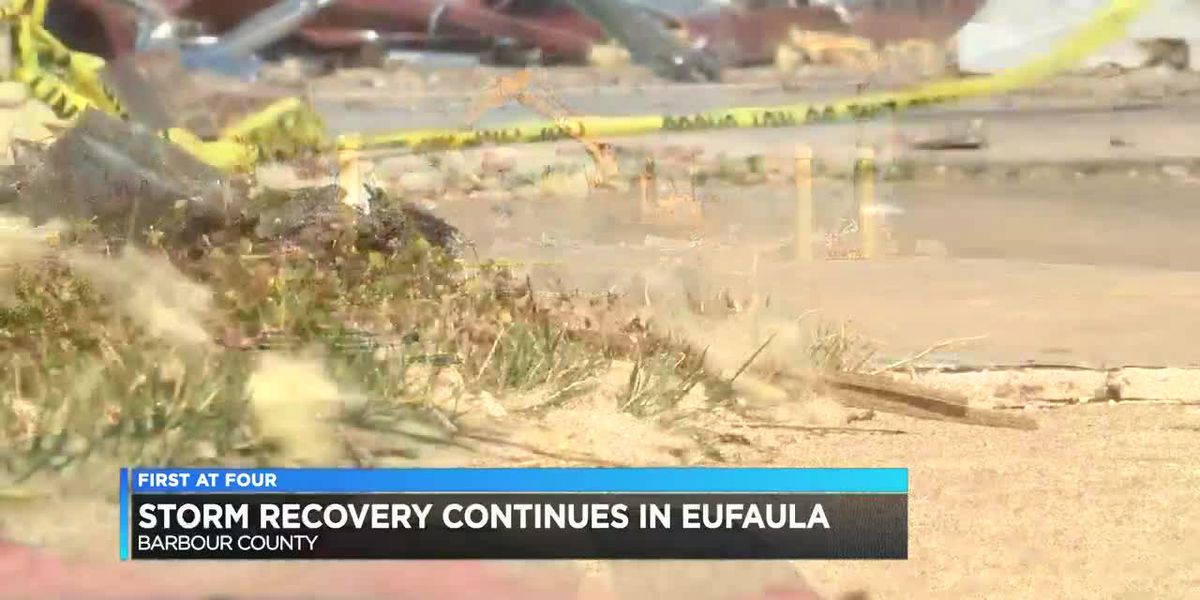 Storm recovery continues in Eufaula weeks after storm