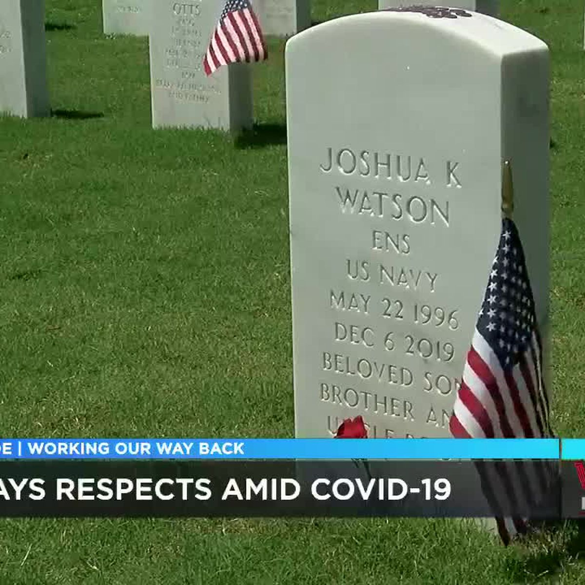 Despite COVID-19, remembrance continues at Alabama National Cemetery