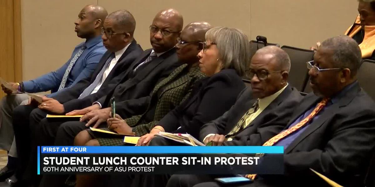 Leaders, survivors honored in 1960 ASU Student Sit-in protest