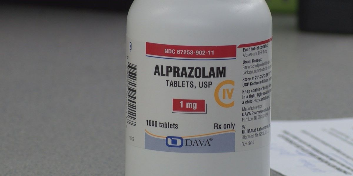 AL to become first state to classify Xanax as Schedule II drug