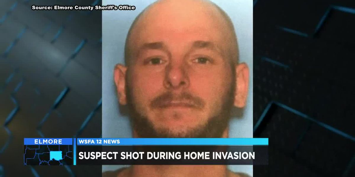 Suspect shot after home invasion in Elmore County