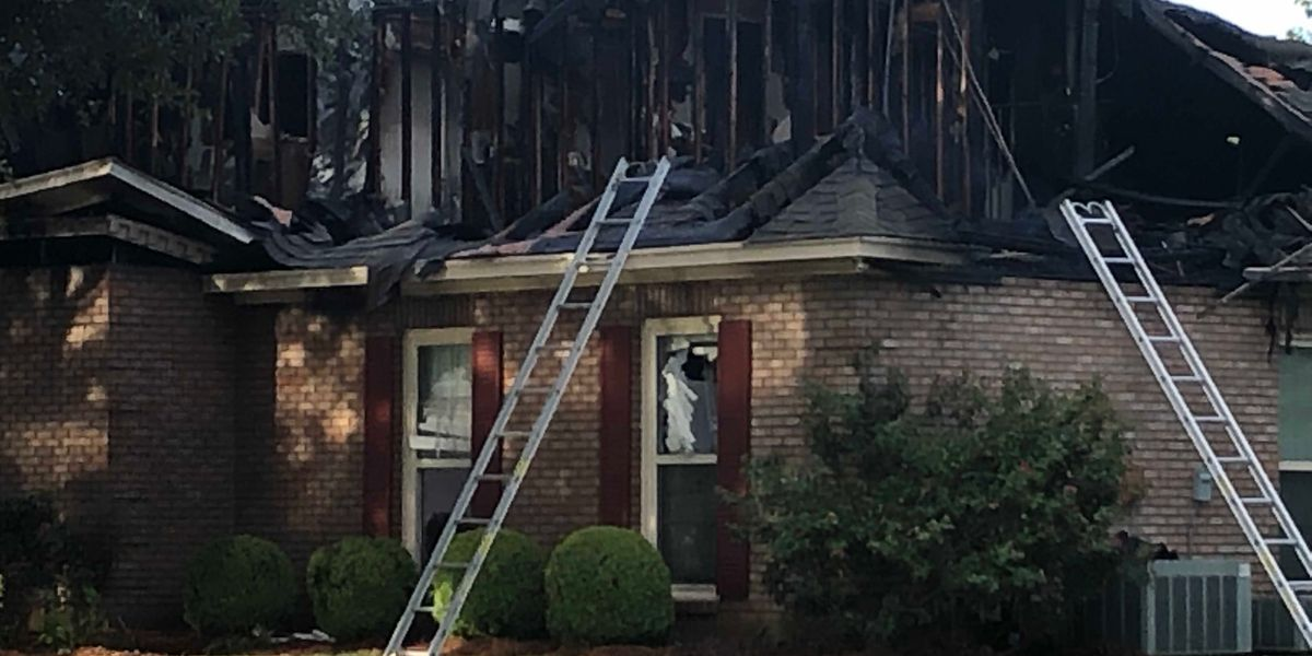 MFD responds to 2-alarm house fire on Meriwether Circle