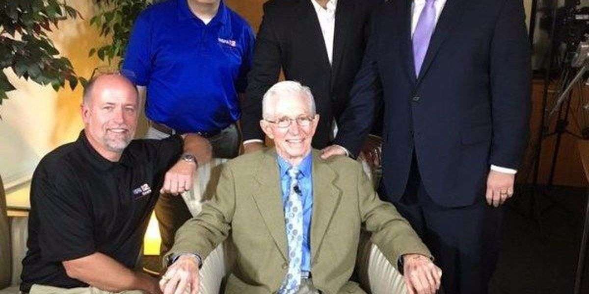 Former WSFA meteorologist Dan Atkinson laid to rest