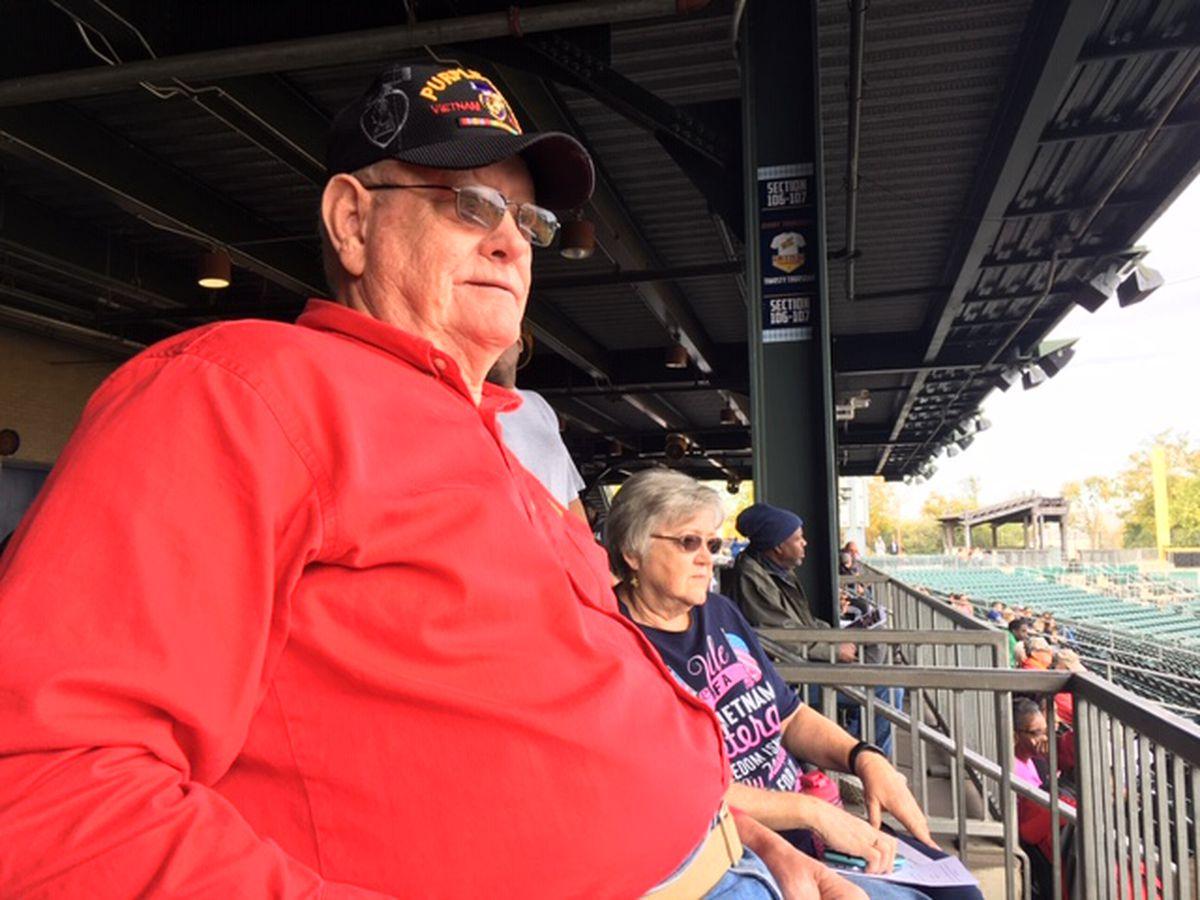 Veterans honored at Montgomery's Riverwalk Stadium