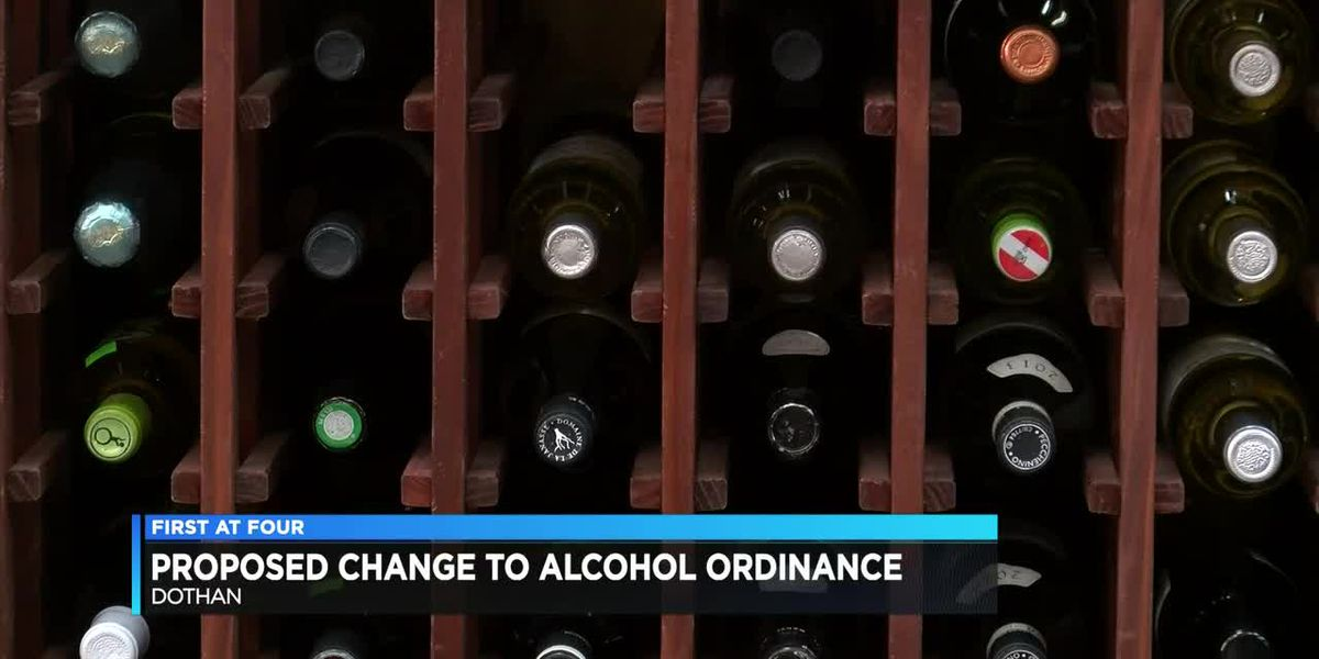 Dothan City Commission discusses proposed changes to alcohol ordinance