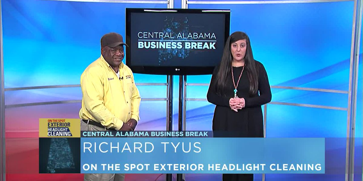 Central Alabama Business Break- On The Spot Exterior Headlight Cleaning