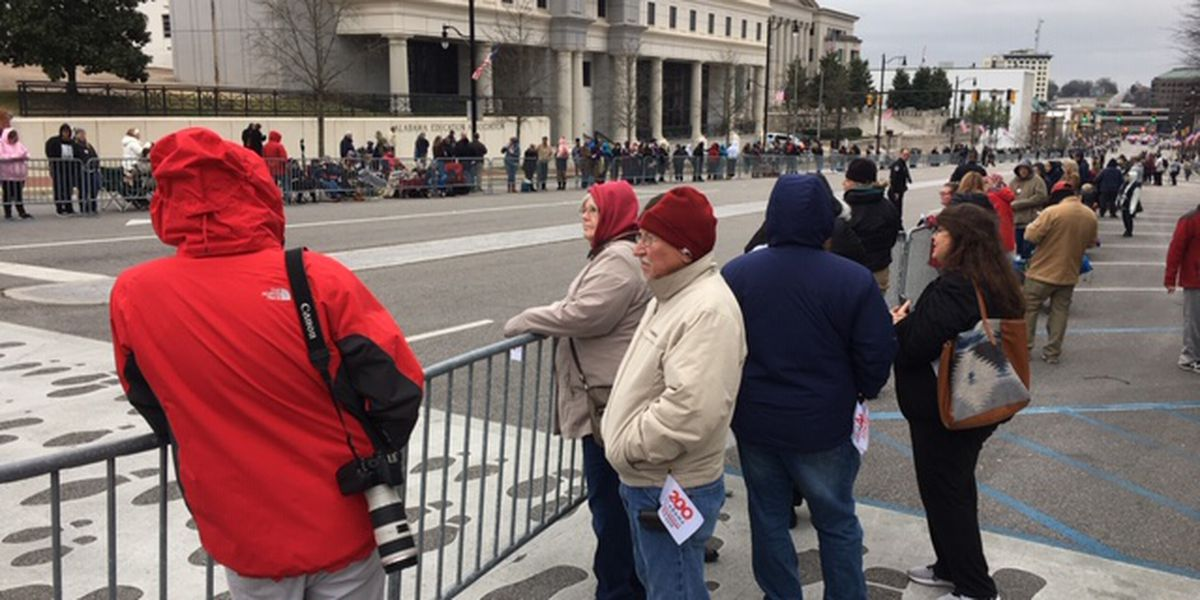 Inaugural parade attracts thousands from around the state