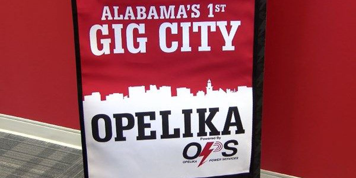Opelika continues to lead the way as Alabama's first Gig City