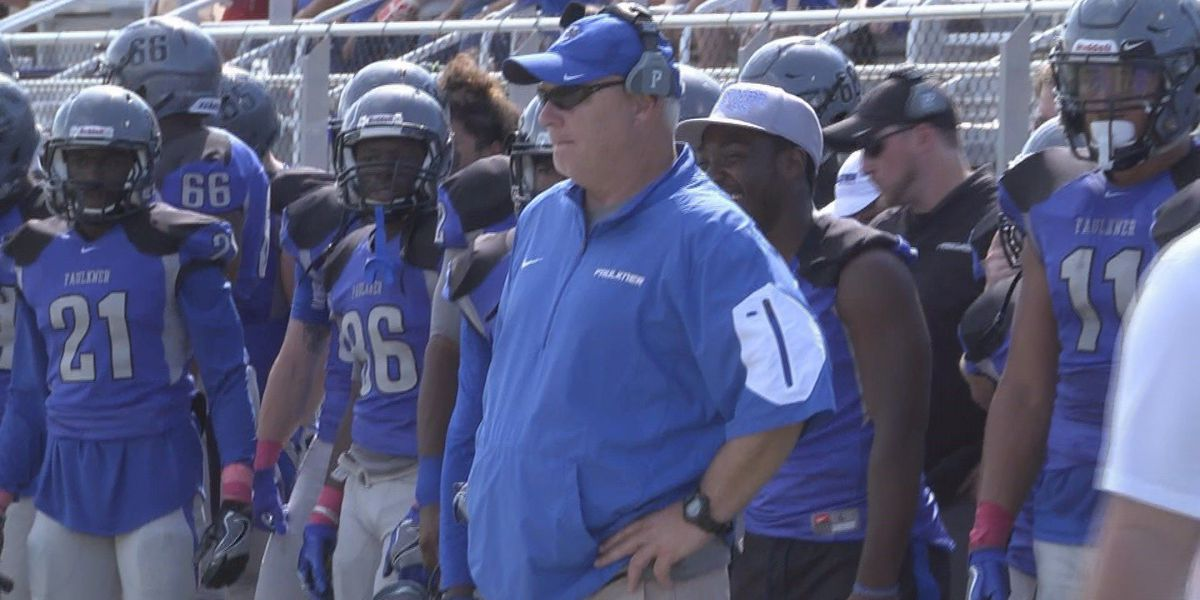 Faulkner smothers Cincinnati Christian in 54-3 win