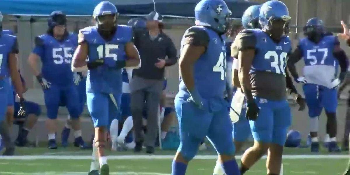 Faulkner takes down Bluefield 42-28