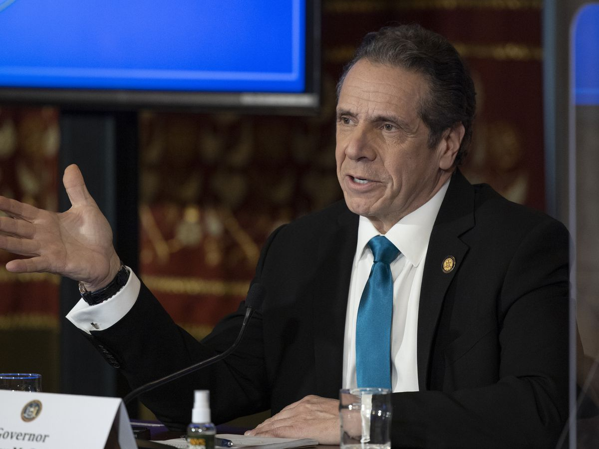 Cuomo sorry for remarks aide 'misinterpreted' as harassment