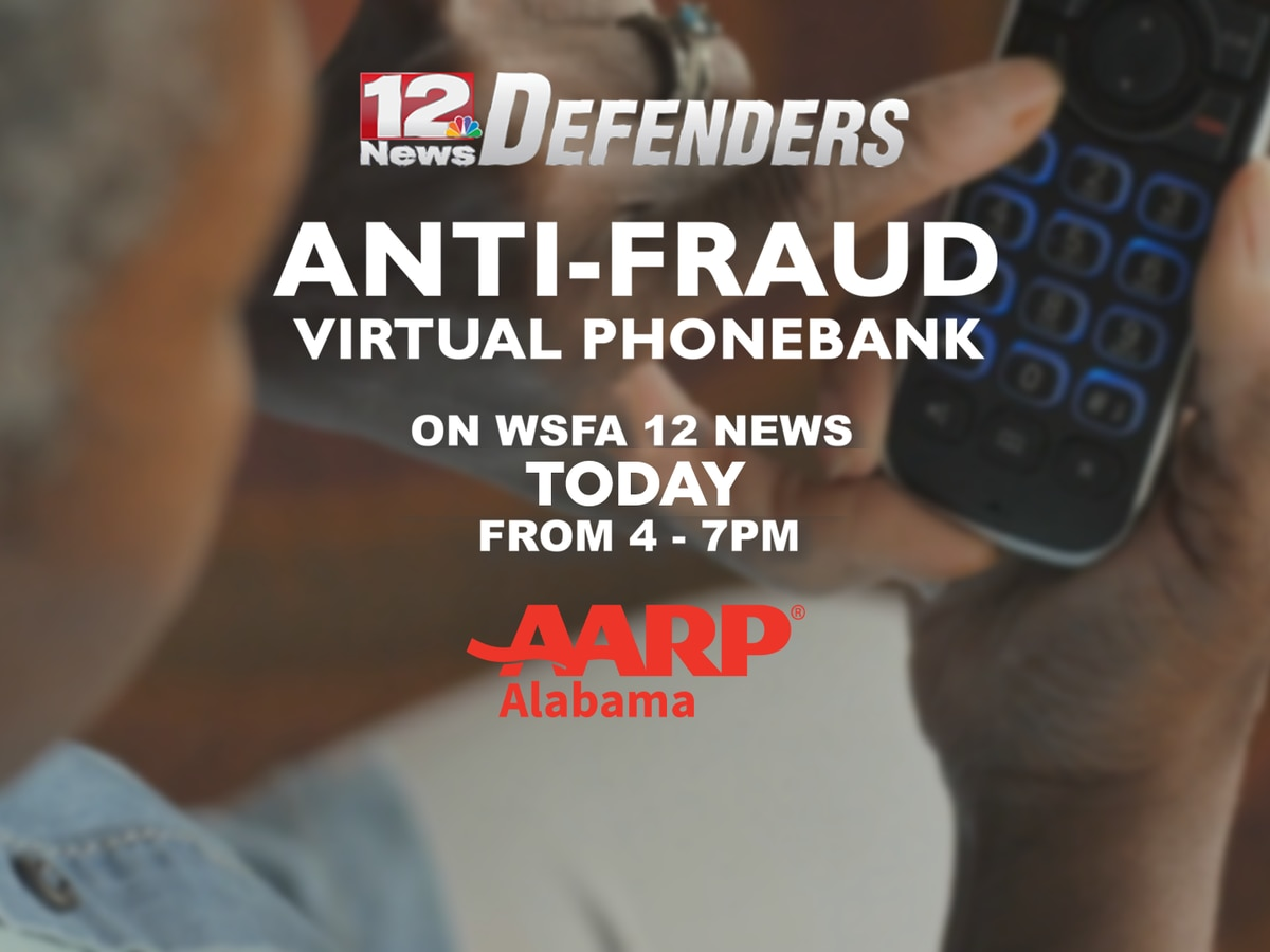 WSFA 12 News, AARP fight fraud with phonebank