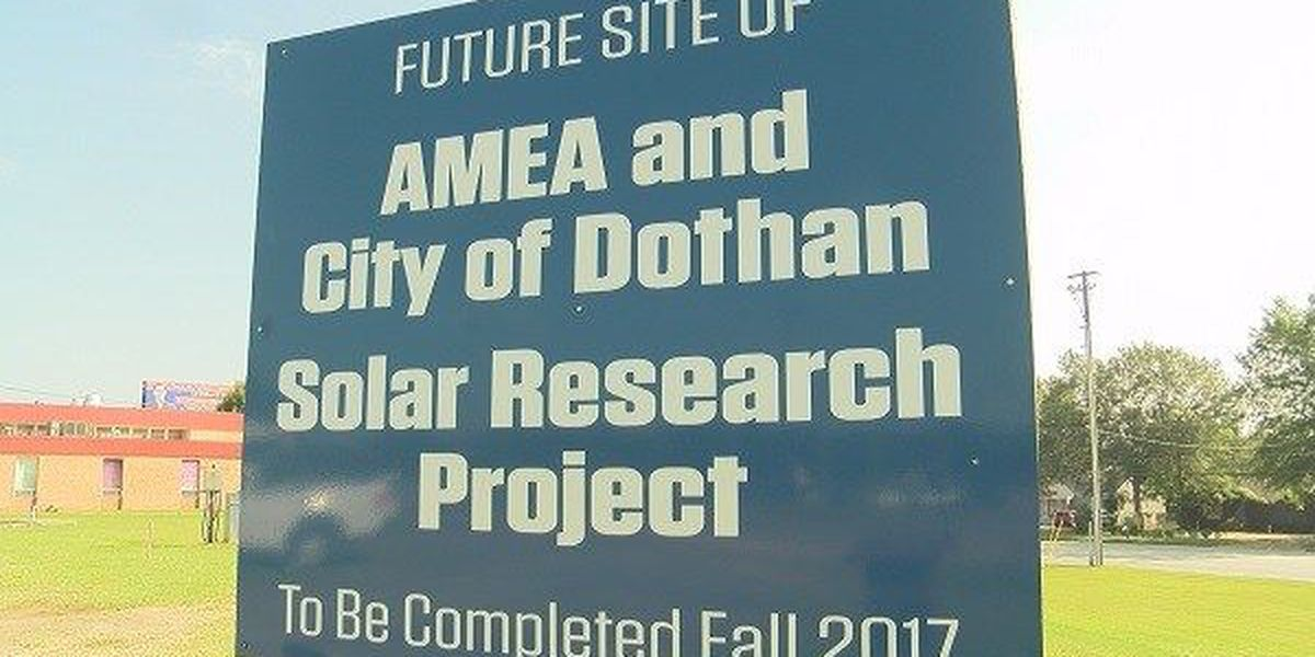 New solar energy project coming to Dothan
