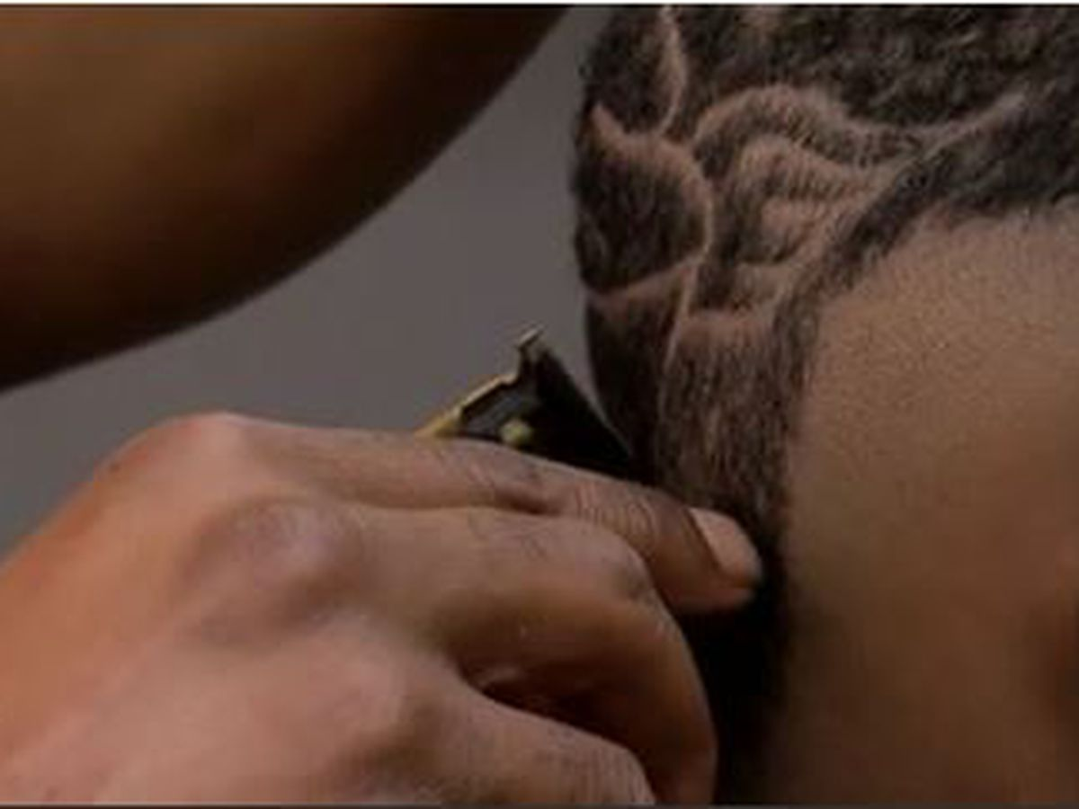 'This is not just a haircut': Barber recreates brother's tribute to Cupcake