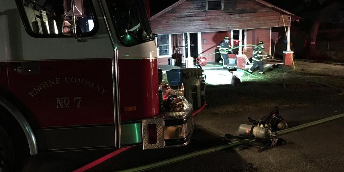 House catches fire in Montgomery Thursday evening