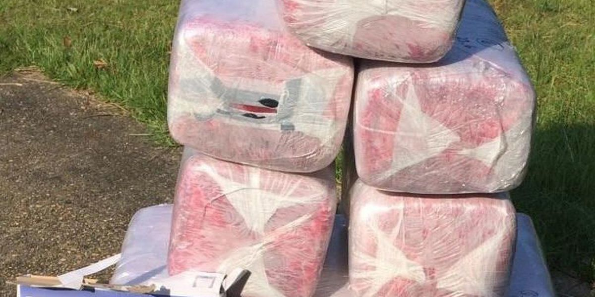 187 lbs. of marijuana seized, 4 arrests made in drug bust