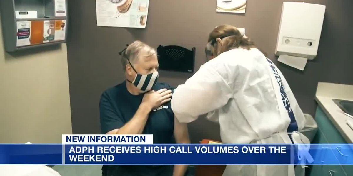 ADPH receives high call volume for vaccines