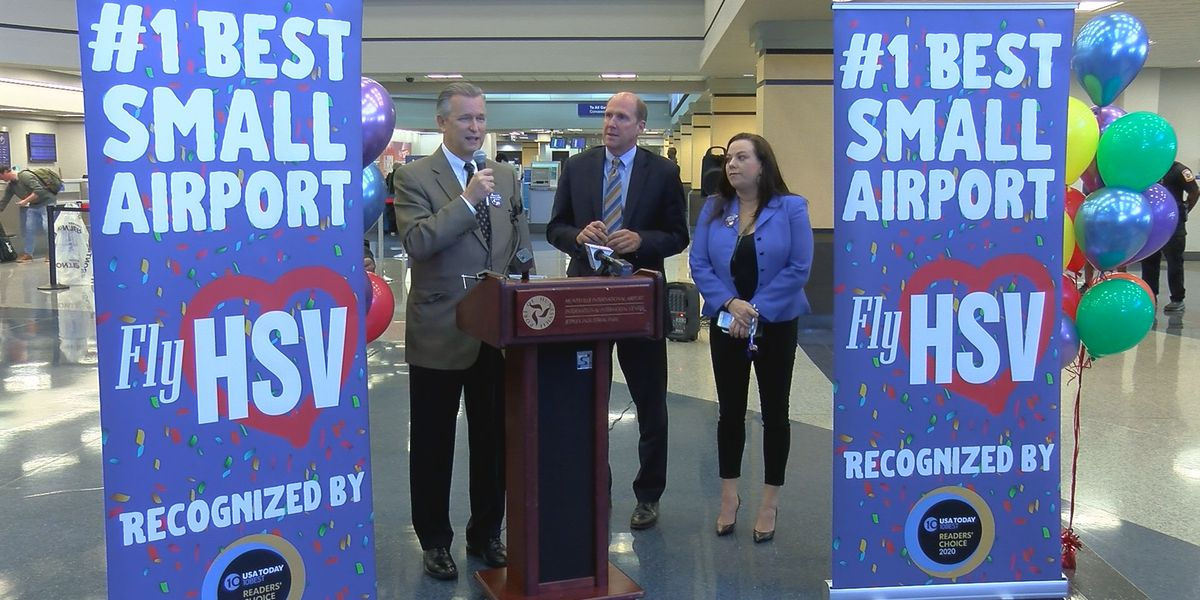 Huntsville voted 'best small airport' in USA Today poll