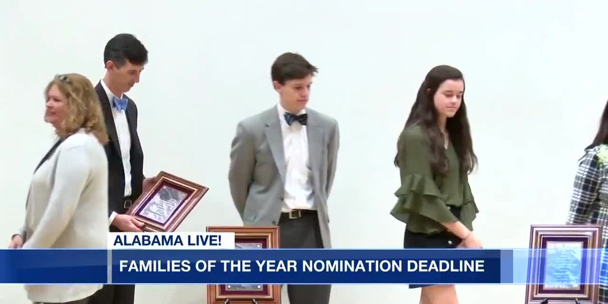 Time running out for Montgomery Family of the Year nominations