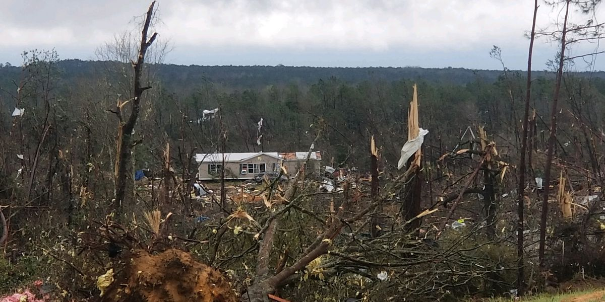 PHOTOS: A look back at the Lee County tornado devastation in pictures