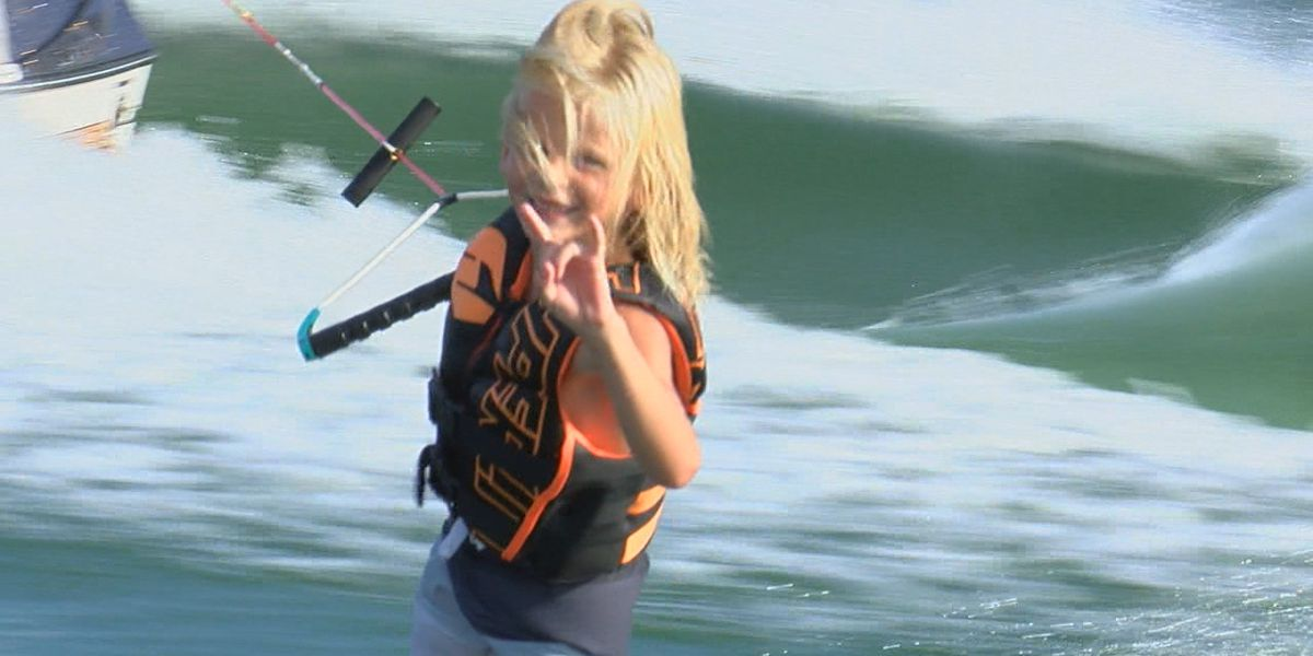 8-Year-Old Wakeboarder to compete for World Title