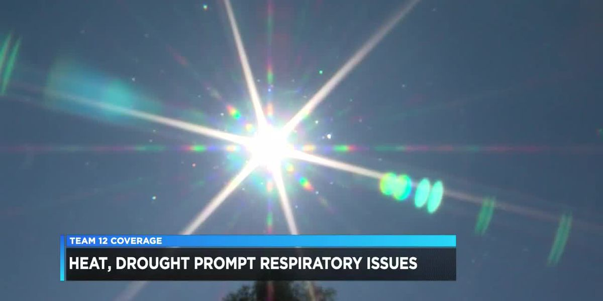 Drought heat affecting allergies