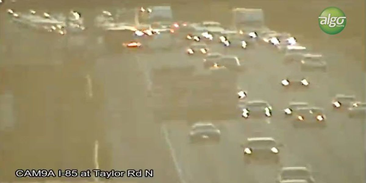 I-85 clear after crash near Bell Road