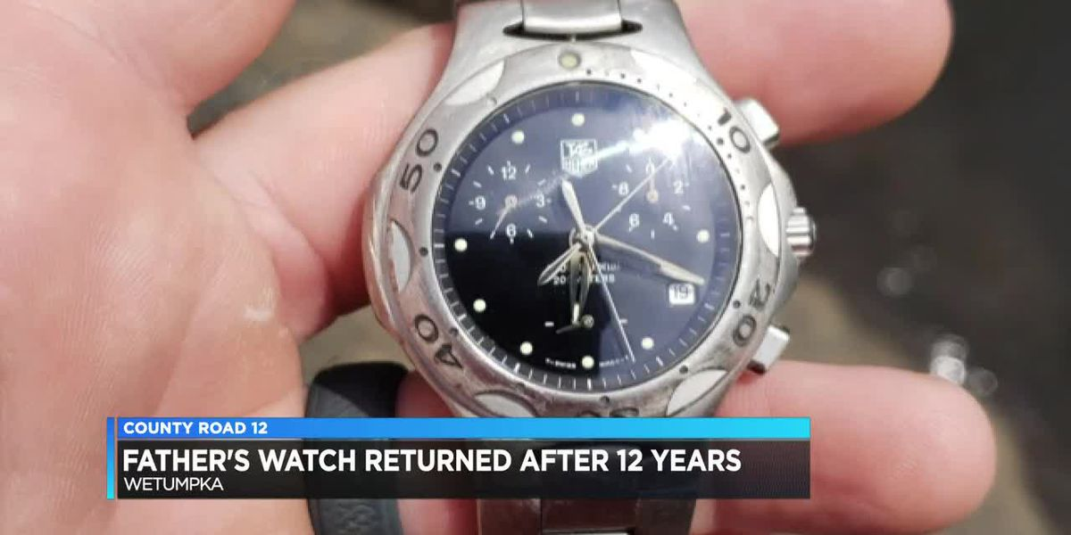County Road 12: Missing watch returned decade later