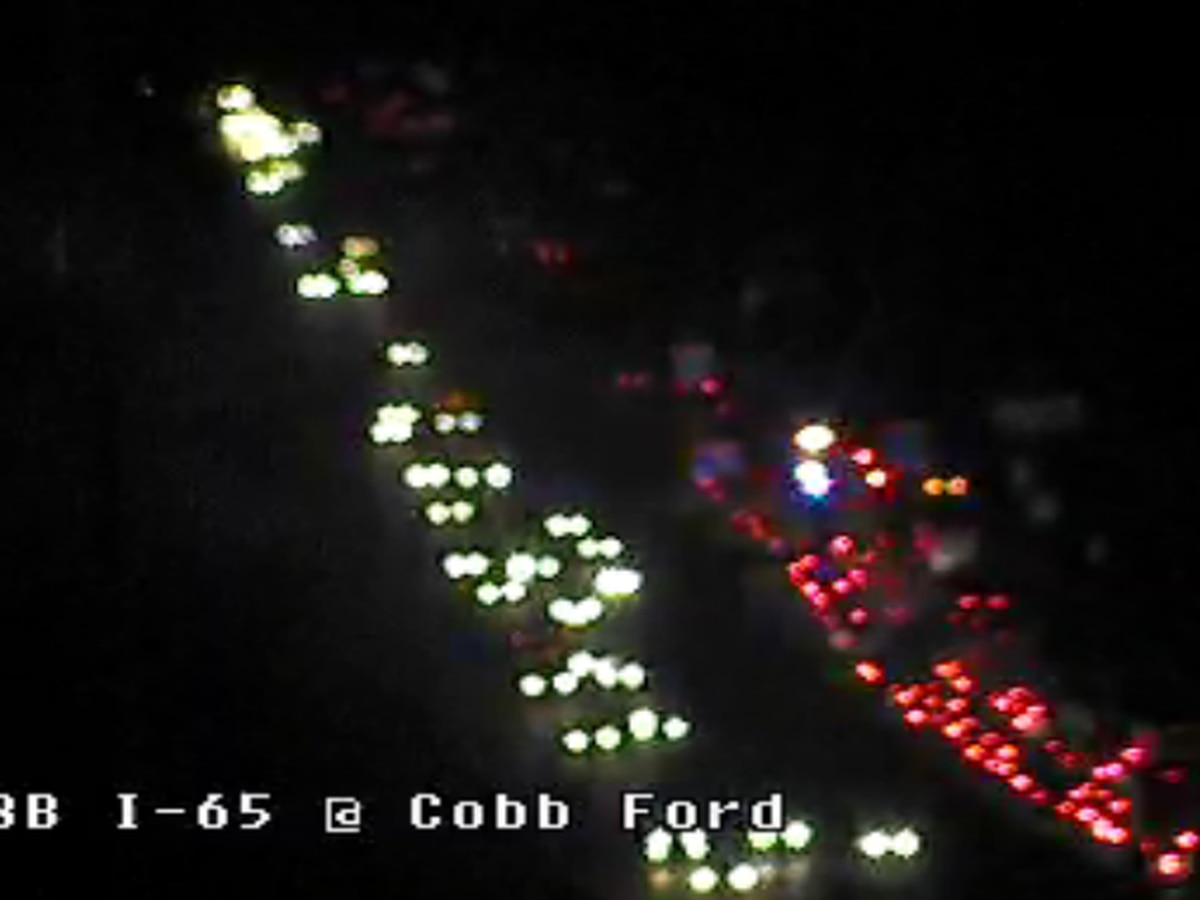 Delays on I-65 SB in Millbrook due to crash