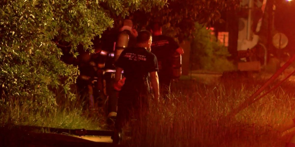 MFR responds to fully involved house fire Wednesday night