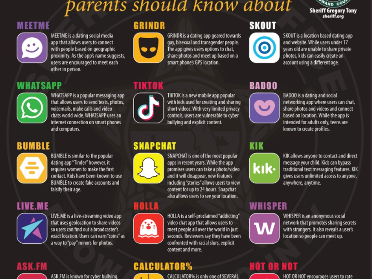 Leaders warn you about dangerous apps for teens
