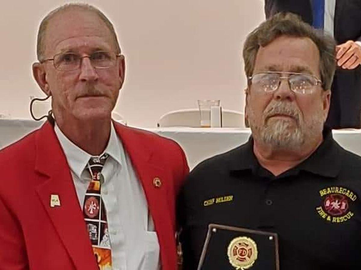 Beauregard Volunteer Fire Department, Chief named top volunteer department, firefighter in Ala.