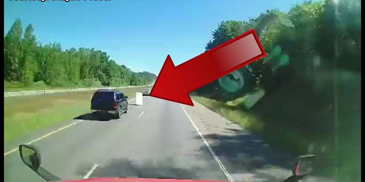 Crash on I-65 in Butler County caught on dashcam