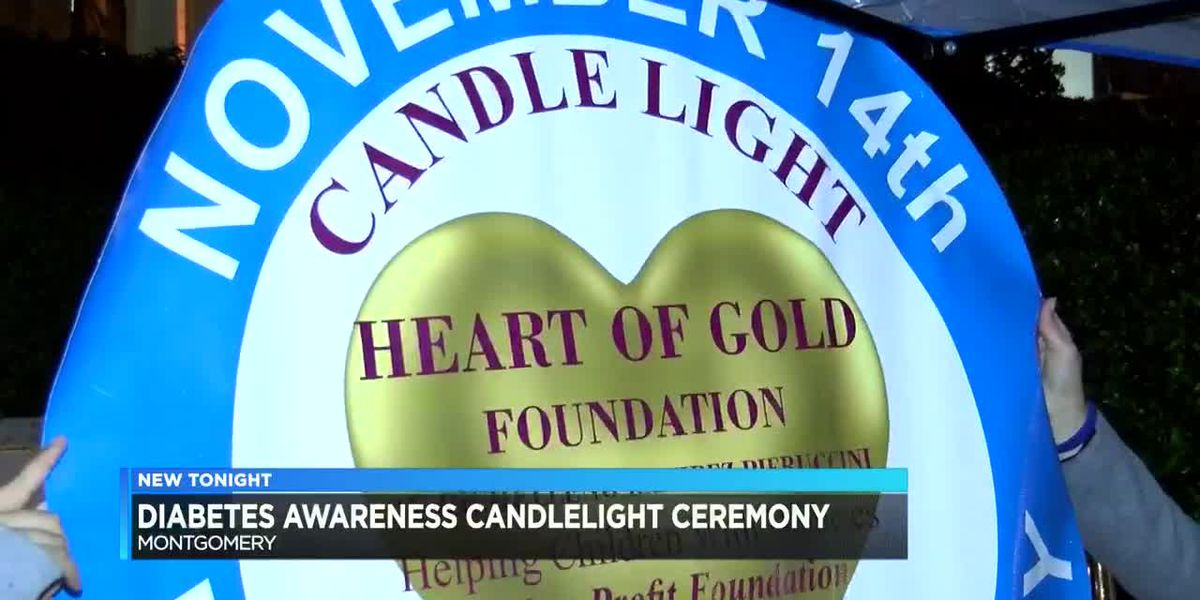 Diabetes awareness candlelight ceremony held downtown