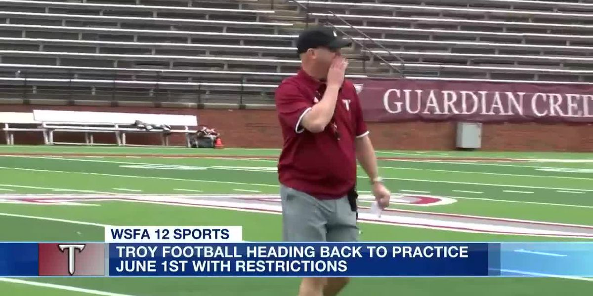 Troy football slated for June 1 return to practice