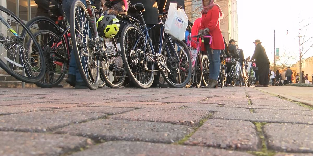 Cyclists prepare to bike over 50 miles in honor of Selma to Montgomery march