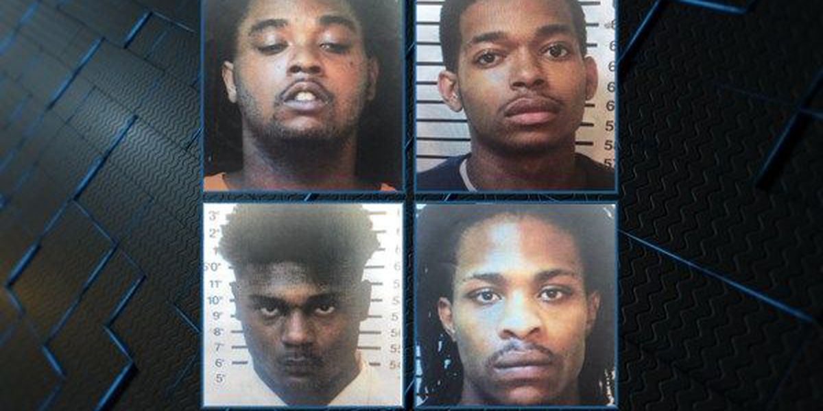 4 arrested, charged in connection to April Macon County homicide
