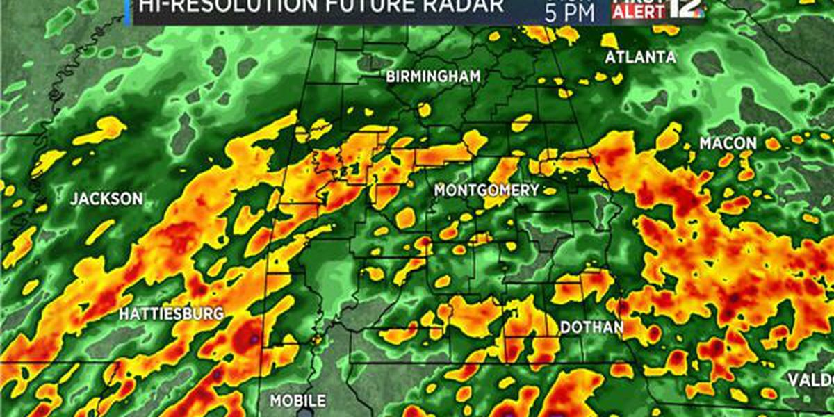 Weather Blog: More rain and potential storms likely today