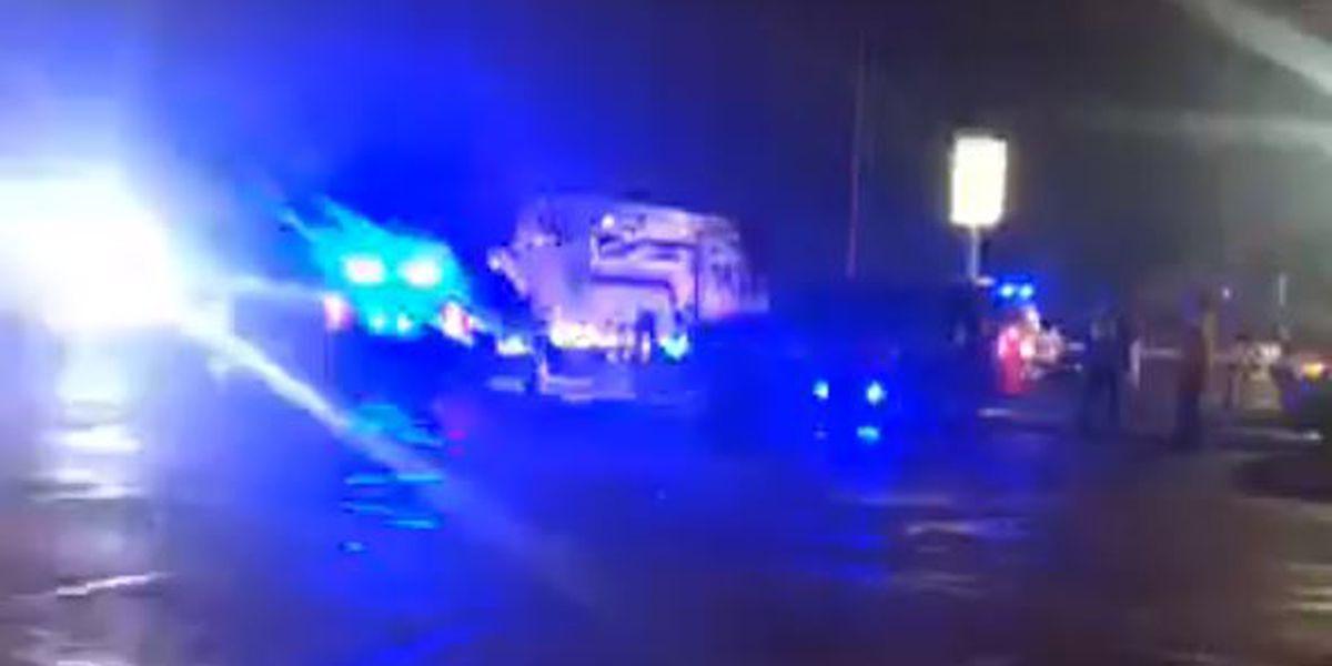 Heavy police presence in Auburn Dollar General parking lot