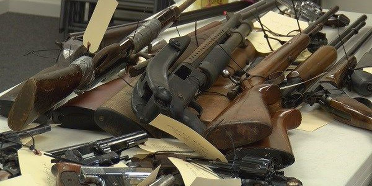 Program buying unwanted guns in Montgomery to be held Saturday