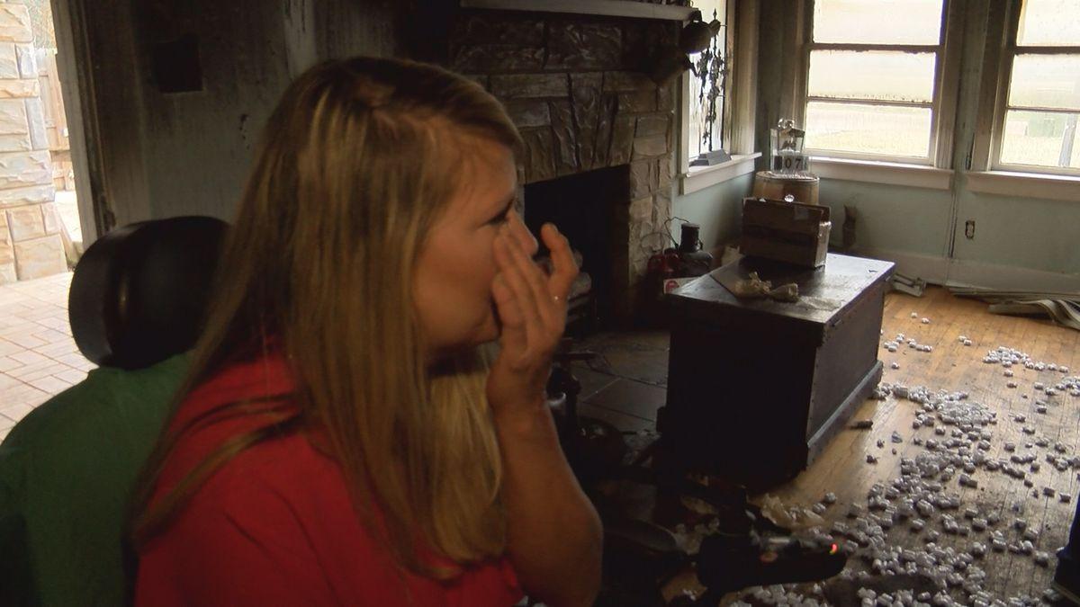 House fire devastates AL woman who's endured 200 surgeries