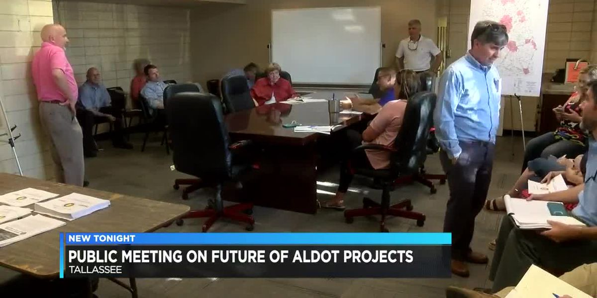 Leaders meet in Tallassee to discuss future ALDOT projects
