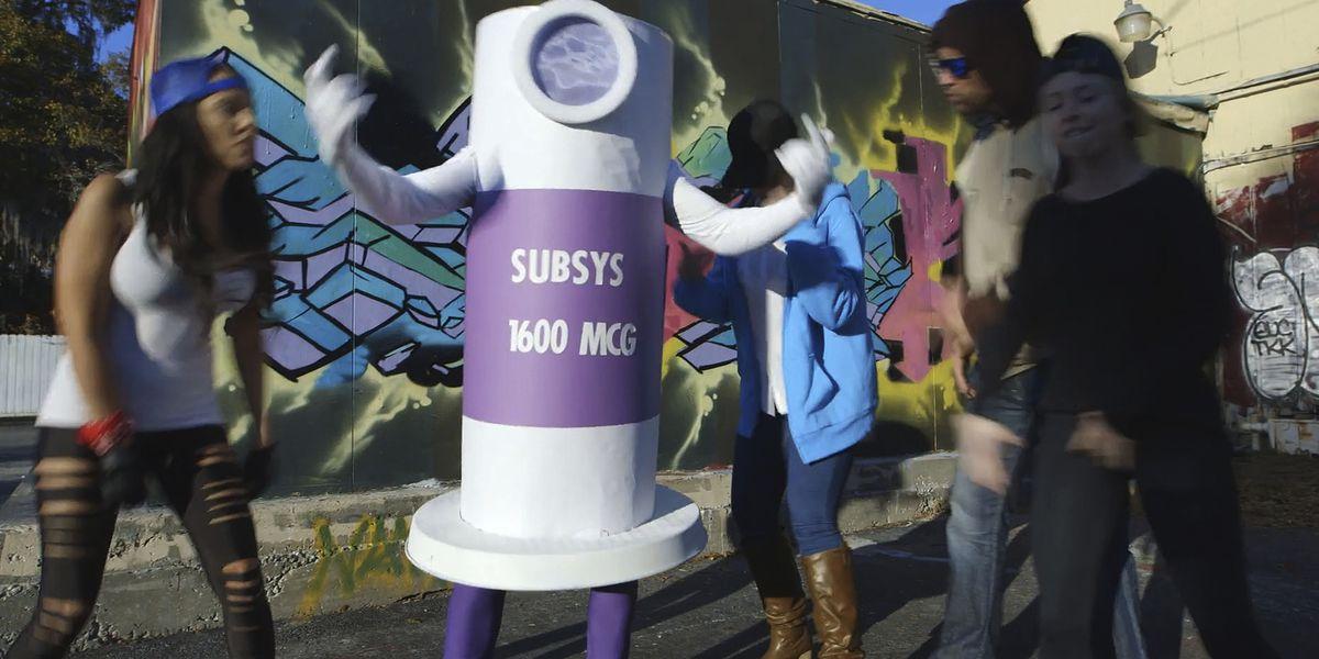 Drug company exec wore fentanyl spray costume in rap video to motivate opioid sales team