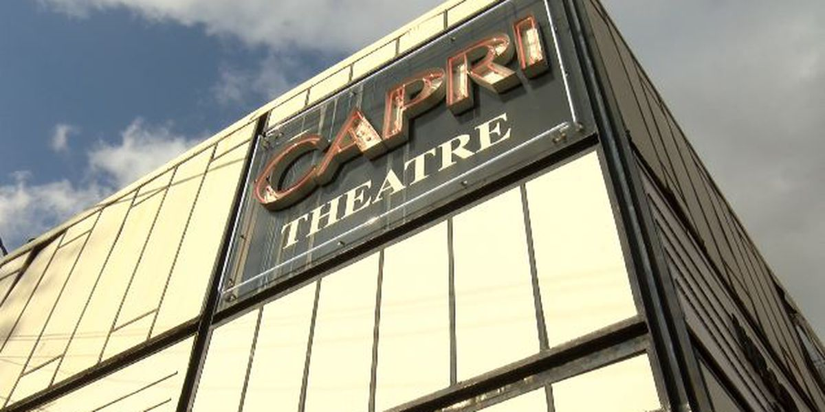 Capri Theatre cancels all movie showings due to technical difficulties