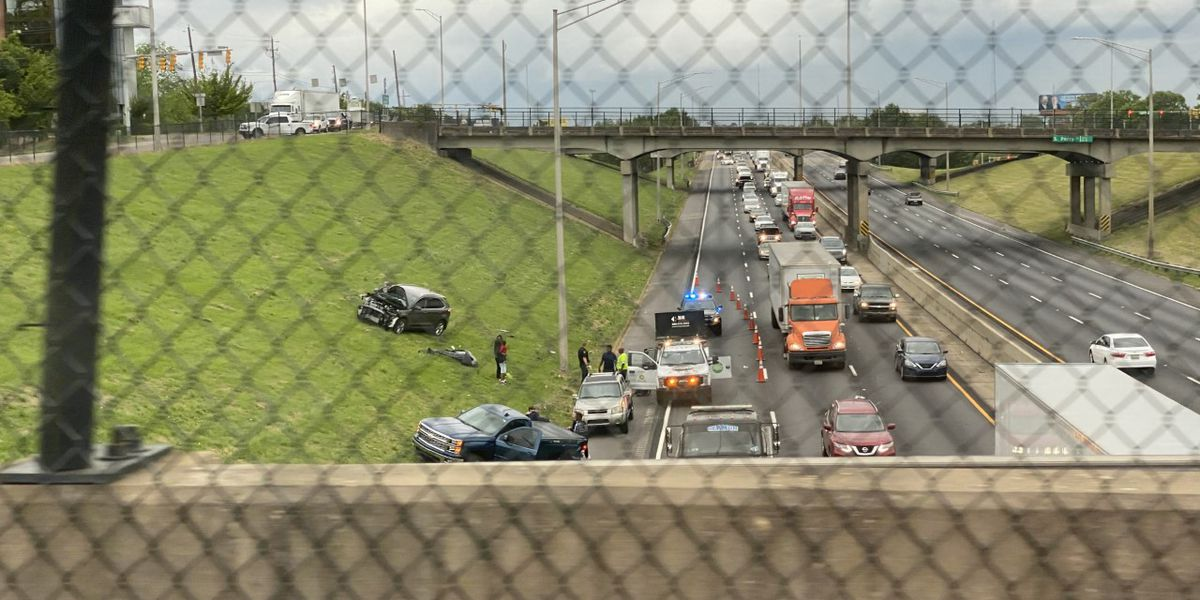 Crash on I-85 SB in Montgomery causing traffic delays