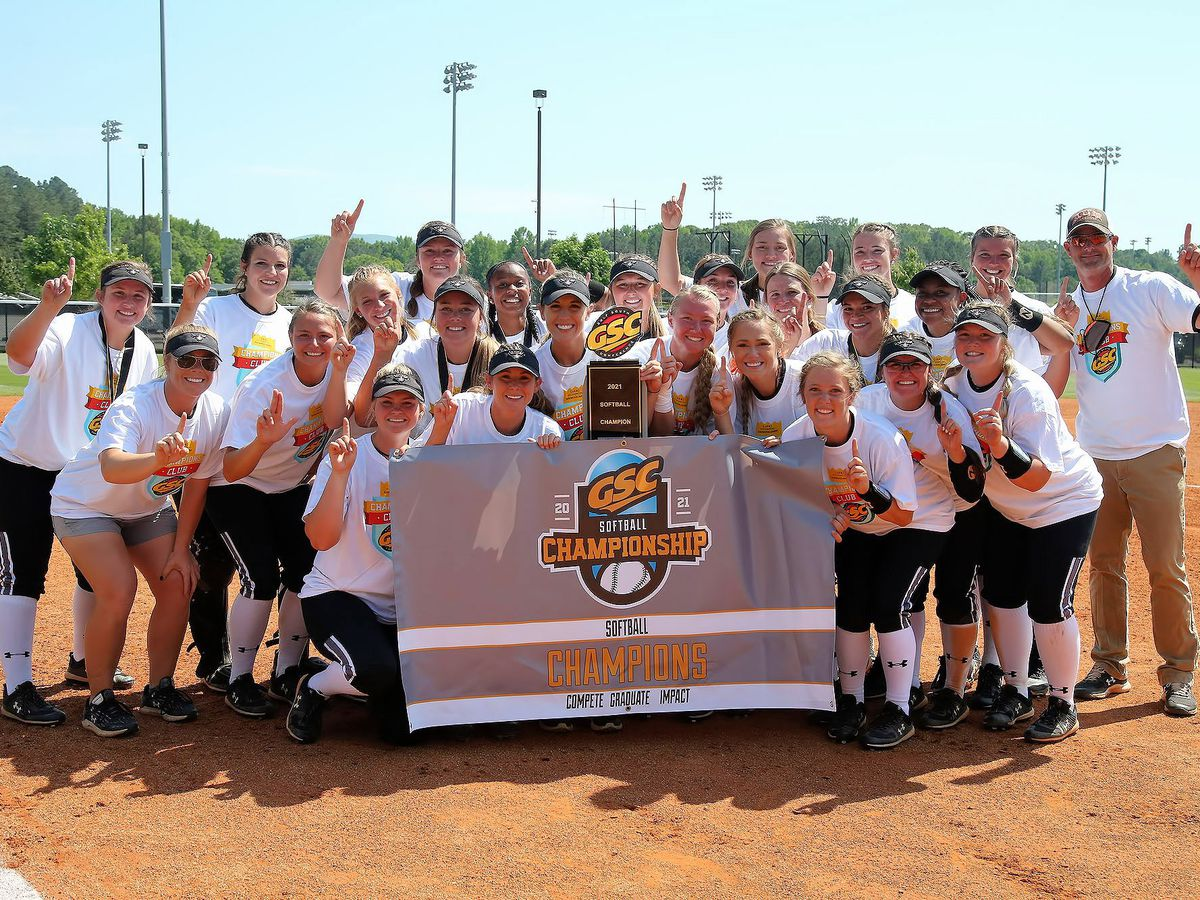 AUM softball wins first ever Gulf South Conference championship