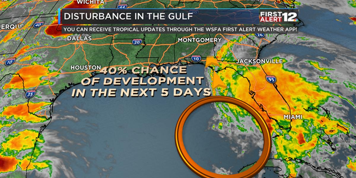 First Alert: Tropical disturbance brewing over the Gulf