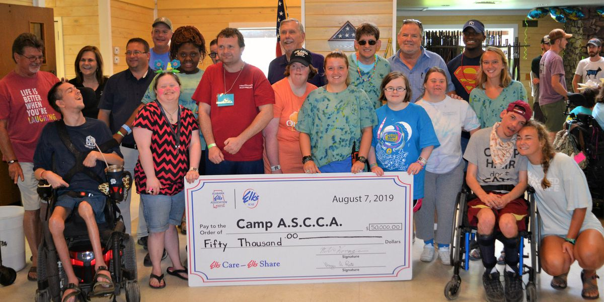 Camp ASCCA in Jackson's Gap receives huge donation